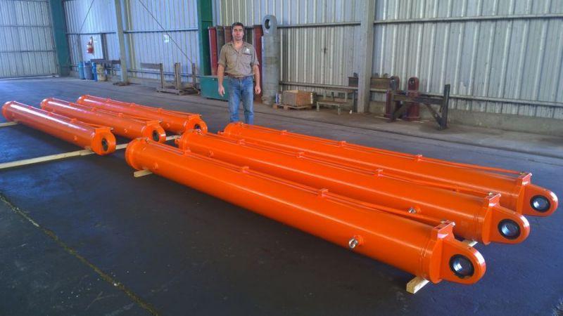 Un nuevo contrato nos permite entregar cilindros hidráulicos para pescantes de Shiploaders